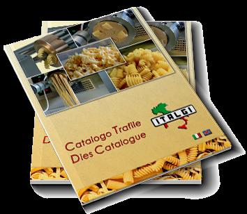 Catalogue formats de pâtes